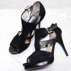 MICHAEL Michael Kors Leather Stiletto Platform 8